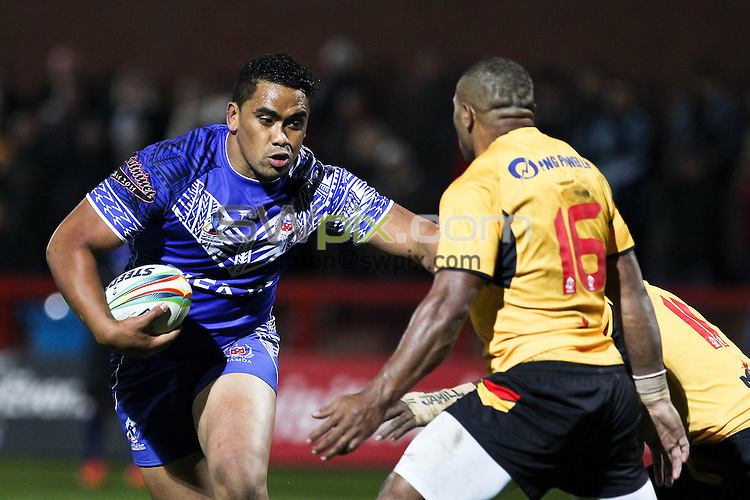 Picture by Alex Whitehead/SWpix.com - 04/11/2013 - Rugby League - Rugby League World Cup - Papua New Guinea v Samoa - Craven Park, Hull, England -