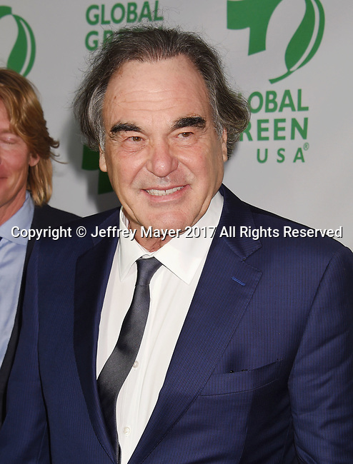 LOS ANGELES, CA - FEBRUARY 22: Director-producer-screenwriter Oliver Stone arrives at the 14th Annual Global Green Pre-Oscar Gala at TAO Hollywood on February 22, 2017 in Los Angeles, California.