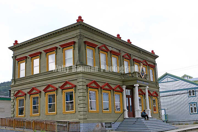 Dawson City Masonic Lodge  2010, THE YUKON TERRITORY, CANADA