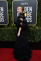 Jodie Comer attends the 76th Annual Golden Globe Awards at the Beverly Hilton in Beverly Hills, CA on Sunday, January 6, 2019.<br /> *Editorial Use Only*<br /> CAP/PLF/HFPA<br /> Image supplied by Capital Pictures