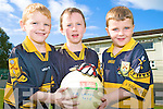 Pictured at the Dr Crokes camp on Monday were Cian McMahon, Jason Daniel and Adam Cronin..........