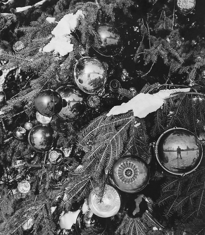 Close-up of decorated Christmas tree with baubles during Christmas contest. (Photo by CQ Roll Call via Getty Images)