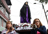 Viernes Santo en  Bogota, Colombia. 03-04-2015