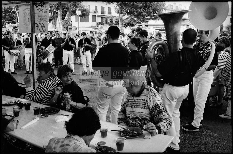 Europe/France/Aquitaine/64/Pyrénées-Atlantiques/Pays Basque/Saint-Jean-de-Luz:  Lors de la Fête du Thon