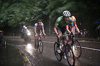 race leaders in the rain<br /> <br /> 50th GP Jef Scherens 2016