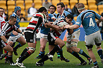 Niva Ta'auso tries to break through the Northland forwards. Air NZ Cup week 4 game between the Counties Manukau Steelers and Northland played at Mt Smart Stadium on the 19th of August 2006. Northland won 21 - 17.