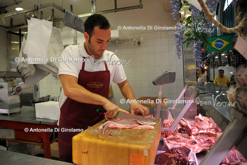 Mercato Centrale di San Lorenzo. San Lorenzo market..Firenze.Florence...