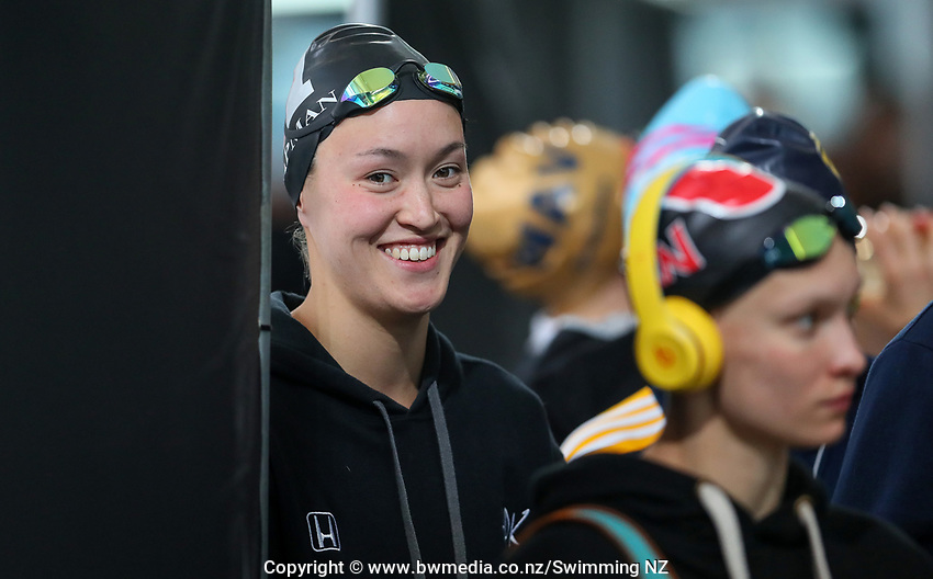 Nikki Chapman. New Zealand Short Course Swimming Championships, National Aquatic Centre, Auckland, New Zealand, Thursday 3rd October 2019. Photo: Simon Watts/www.bwmedia.co.nz/SwimmingNZ