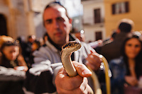 Italy, Cocullo serpari