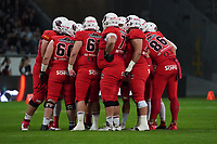 Besprechung Braunschweig - 12.10.2019: German Bowl XLI Braunschweig Lions vs. Schwäbisch Hall Unicorns, Commerzbank Arena Frankfurt
