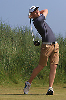 Marc McKinstry (Cairndhu) on the 3rd tee during Round 4 of the East of Ireland Amateur Open Championship 2018 at Co. Louth Golf Club, Baltray, Co. Louth on Monday 4th June 2018.<br /> Picture:  Thos Caffrey / Golffile<br /> <br /> All photo usage must carry mandatory copyright credit (&copy; Golffile | Thos Caffrey)