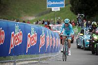 Vincenzo Nibali (ITA/Astana)<br /> <br /> stage 15 (iTT): Castelrotto-Alpe di Siusi 10.8km<br /> 99th Giro d'Italia 2016