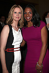 Cynthia Nixon & Audra McDonald.Behind the Scenes at the 2012 Tony Award-Meet The Nominees Press Reception at Millennium Broadway Hotel on May 2, 2012 in New York City. © Walter McBride/WM Photography .