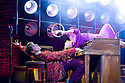 Million Dollar Quartet. Book by Colin Escott and Floyd Mutrux directed by Eric Schaeffer. With Ben Goddard as Jerry Lee Lewis,Francesca Jackson as Dyanne. Opens at The Noel Coward  Theatre on 28/2/11  CREDIT Geraint Lewis