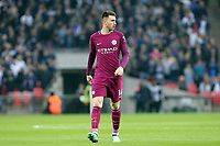 Aymeric Laporte of Manchester City during Tottenham Hotspur vs Manchester City, Premier League Football at Wembley Stadium on 14th April 2018