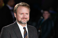 "LONDON, UK. October 08, 2019: Rian Johnson arriving for the ""Knives Out"" screening as part of the London Film Festival 2019 at the Odeon Leicester Square, London.<br /> Picture: Steve Vas/Featureflash"