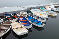 Skiffs at Rest