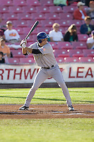 July 7, 2009: Tri-City Dust Devils' Kent Matthes at-bat during a Northwest League game against the Salem-Keizer Volcanoes at Volcanoes Stadium in Salem, Oregon.