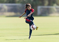 Tampa, FL - February 22, 2019:  The USWNT trains prior to the SheBelieves Cup.