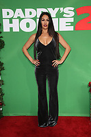 WESTWOOD, CA - NOVEMBER 5: Nikki Bella at the premiere of Daddy's Home 2 at the Regency Village Theater in Westwood, California on November 5, 2017. <br /> CAP/MPI/FS<br /> &copy;FS/MPI/Capital Pictures