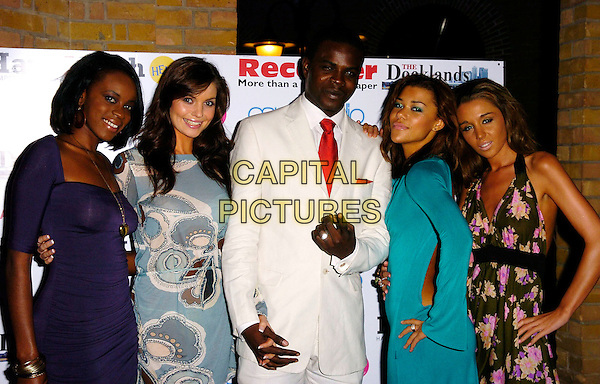 MR. SKILLZ & HIS CRAZY GIRLS.Arrivals at The Ice Ball, The Brewery, .London, England, October 23rd 2006..half length.Ref: CAN.www.capitalpictures.com.sales@capitalpictures.com.©Can Nguyen/Capital Pictures