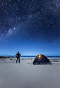 Milky Way over the Southern Ocean