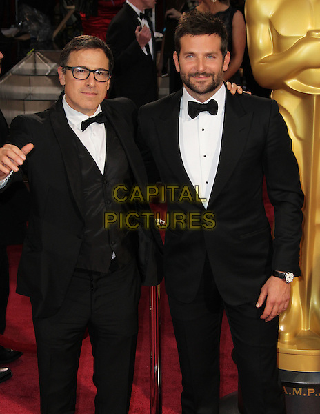 02 March 2014 - Hollywood, California - David O. Russell, Bradley Cooper. 86th Annual Academy Awards held at the Dolby Theatre at Hollywood &amp; Highland Center.  <br /> CAP/ADM<br /> &copy;AdMedia/Capital Pictures