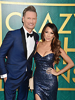 HOLLYWOOD, CA - AUGUST 07: Brian Tyler arrives at the Warner Bros. Pictures' 'Crazy Rich Asians' premiere at the TCL Chinese Theatre IMAX on August 7, 2018 in Hollywood, California.<br /> CAP/ROT/TM<br /> &copy;TM/ROT/Capital Pictures