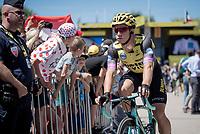 Dylan Groenewegen (NED/Jumbo-Visma) at the race start in Saint-Dié-des-Vosges<br /> <br /> Stage 5: Saint-Dié-des-Vosges to Colmar(175km)<br /> 106th Tour de France 2019 (2.UWT)<br /> <br /> ©kramon