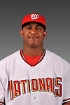 14 March 2008: ..Portrait of Desmond Jones, Washington Nationals Minor League player at Spring Training Camp 2008..Mandatory Photo Credit: Ed Wolfstein Photo