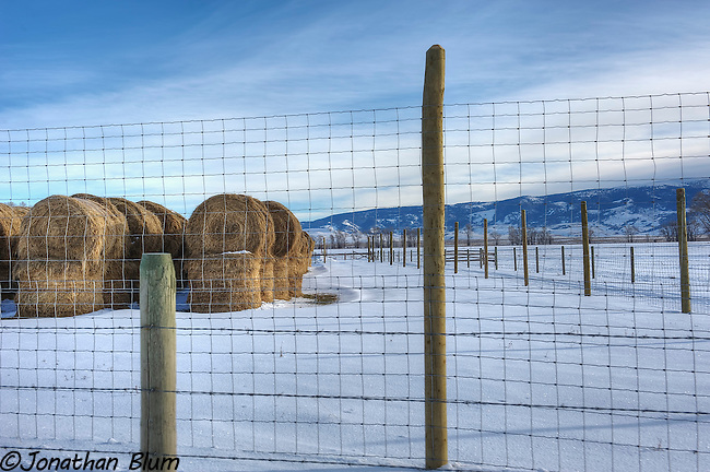 Ranch Scene, Jackson, Wyoming, HDR