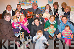 The church of Ireland in Kenmare hold a weekly play and praise group for families which is a huge success for all involved. .Front L-R Mary Hayes, Aoibhe Dignan with Wendy and Adah, Deirdre Miles with Matthew, Kirsty and Sarah Doyle, Sheena O'Sullivan and Nicole .Back L-R Jane Tirmizi, Ian Miles, Micheal Cavanagh, Sharon and Caoimhe Aylward, Claudia Grodotzki, Chrissy Wood and Majorie Cavanagh.