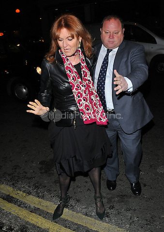 Sarah, Duchess of York ( Sarah Ferguson ) at the Weinstein, Grey Goose &amp; Burberry pre-BAFTAs Dinner, Little House, Queen Street, London, England, UK, on Friday 10 February 2017.<br /> CAP/CAN<br /> &copy;CAN/Capital Pictures /MediaPunch ***NORTH AND SOUTH AMERICAS ONLY***