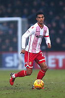 Terence Vancooten of Stevenage during Stevenage vs Luton Town, Sky Bet EFL League 2 Football at the Lamex Stadium on 10th February 2018