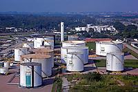 Refinaria de petroleo da Petrobras, REDUCem Duque de Caxias. Rio de Janeiro. 2014. Foto de Renata Mello.