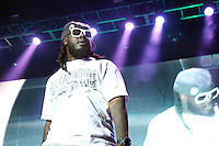 T-Pain performing at Wired 96.5 Fest at The Susquehanna Bank Center in Camden, New Jersey on June 1, 2012  © Star Shooter / MediaPunchInc