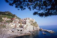 Manarola, Liguria, 2013.