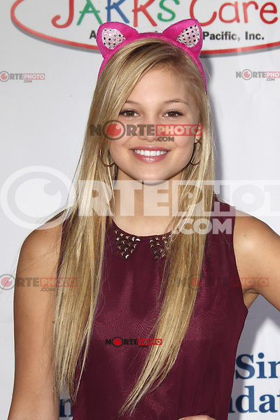 UNIVERSAL CITY, CA - OCTOBER 21:  Olivia Holt at the Camp Ronald McDonald for Good Times 20th Annual Halloween Carnival at the Universal Studios Backlot on October 21, 2012 in Universal City, California. ©mpi28/MediaPunch Inc. /NortePhoto