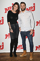 "CLAIRE, CORENTIN - PHOTOCALL NRJ 12 DES CANDIDATS ""FRIENDS TRIP 4"" AU BUDDHA BAR A PARIS, FRANCE, LE 14/12/2017."