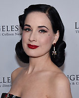 April 11, 2019 - Beverly Hills, California - Dita Von Teese. Los Angeles Ballet Gala 2019 held at The Beverly Hilton Hotel. <br /> CAP/ADM/BB<br /> &copy;BB/ADM/Capital Pictures