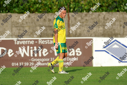 2012-08-14 / Voetbal / seizoen 2012-2013 / Witgoor Dessel / Frans Leyten..Foto: Mpics.be