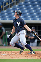 New York Yankees first baseman Chris Breen (67) during an Instructional League game against the Philadelphia Phillies on September 23, 2014 at the Bright House Field in Clearwater, Florida.  (Mike Janes/Four Seam Images)
