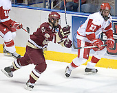 Mike Brennan, Ross Carlson - The University of Wisconsin Badgers defeated the Boston College Eagles 2-1 on Saturday, April 8, 2006, at the Bradley Center in Milwaukee, Wisconsin in the 2006 Frozen Four Final to take the national Title.