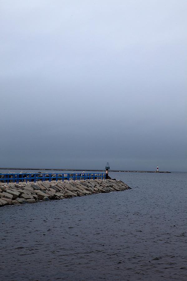 Harbor in Luddington, Michigan, USA