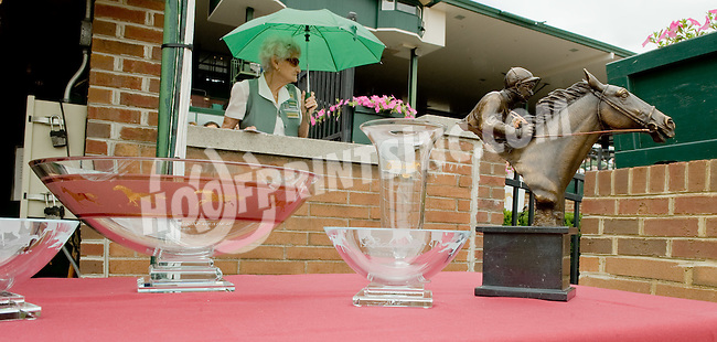 trophies at Delaware Park on 7/21/12