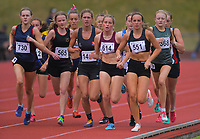 Senior girls 1500m preliminary race. 2019 New Zealand Secondary Schools Athletics Championships at Newtown Park in Wellington, New Zealand on Saturday, 7 December 2019. Photo: Dave Lintott / lintottphoto.co.nz