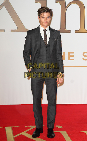 LONDON, ENGLAND - JANUARY 14: Oliver Cheshire attends the World Premiere of 'Kingsman: The Secret Service' at the Odeon Leicester Square on January 14, 2015 in London, England<br /> CAP/ROS<br /> &copy;Steve Ross/Capital Pictures