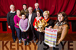 Ivy Leaf, Castleisland launch the  30th Kerry Drama Festival from friday March 4th to Saturday March 11th. Pictured front l-r Jean Horgan Anne Brid Reidy, Back l-r Jerome Stack, Caroline Healy O'Connor, Derarca O'Connor, Tommy Martin, Aidan Reidy, Joe Martin, Mary Murphy