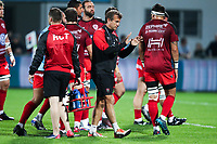 Head coach Fabien Galthie of Toulon during the French Top 14 match between Agen and Toulon at Stade Armandie on November 4, 2017 in Agen, France. (Photo by Manuel Blondeau/Icon Sport)