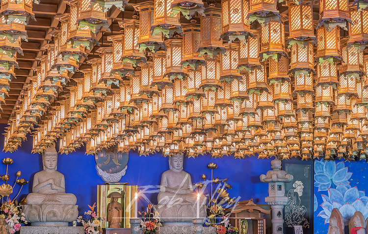 Japan, Hiroshima, Miyajiama, Daisho-in Temple, Hakkaku Manpuku Hall, Seven Deties of Good Fortune